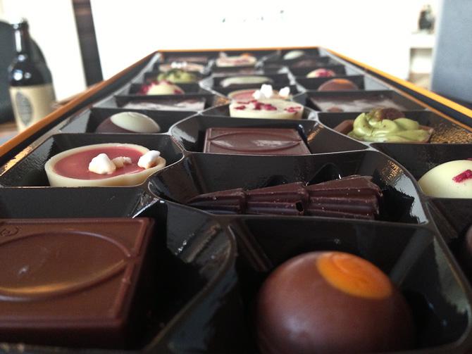 En hilsen fra Hotel Chocolat nåede frem. Og noget andet er på vej.