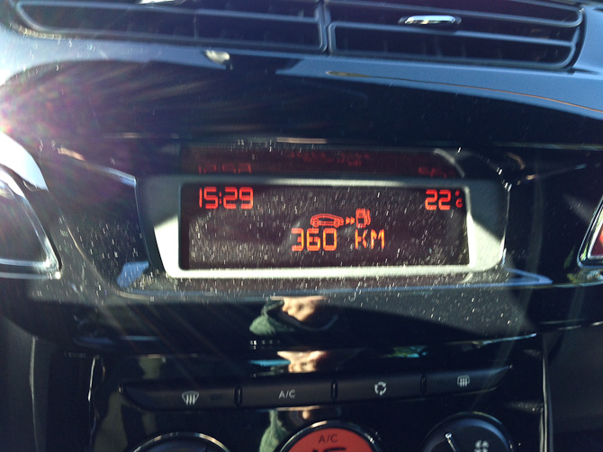 Nærmest ultimo september - og en høj temperatur