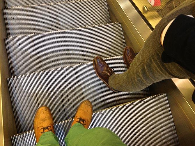 Vi kørte med Metro