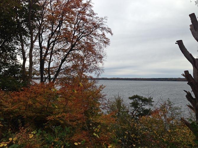 Vi besøgte endnu mere familie og spadserede ved en sø.