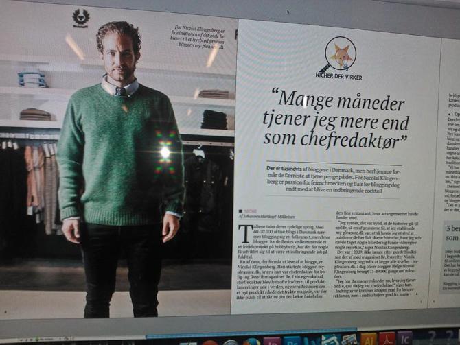 Jeg røg i Børsens elektroniske weekend-avis