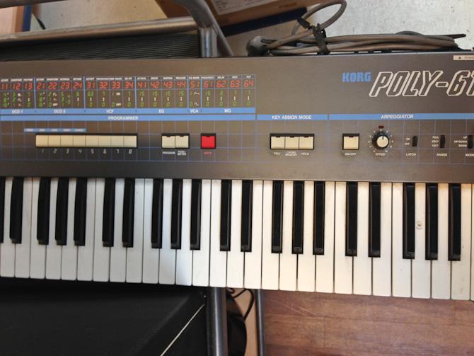 Jeg fik lyst til at spille elektronisk musik
