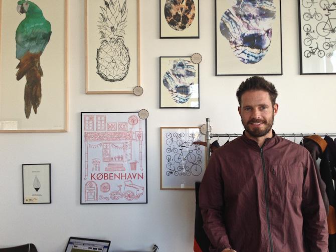 Anders Forup fremviste sin butik