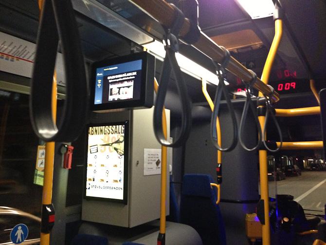Bus efter midnat