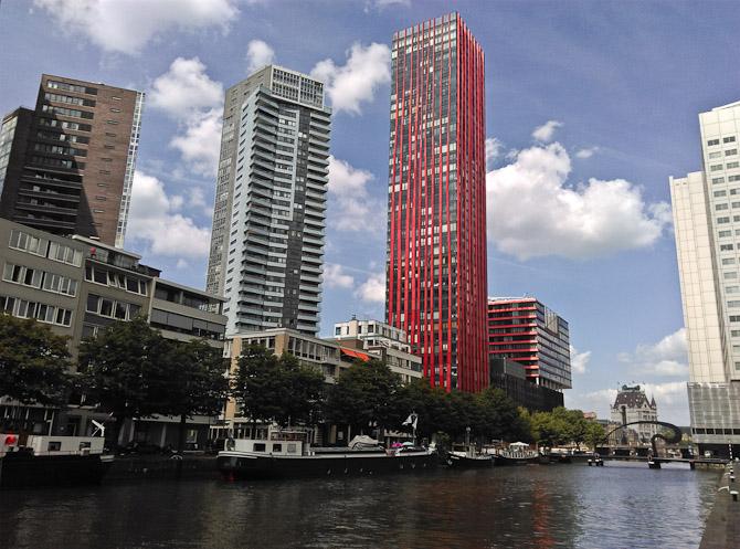 Rotterdam og noget arkitektur