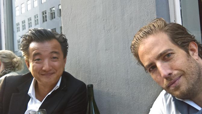Aftensols'fie. Eller bare min ven Frederik og jeg.