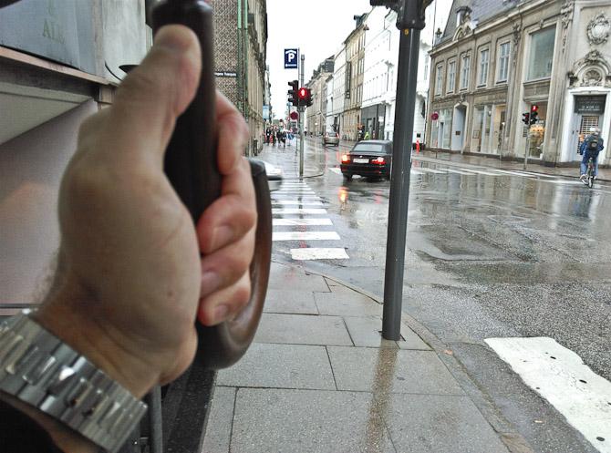 Paraplyen kom op