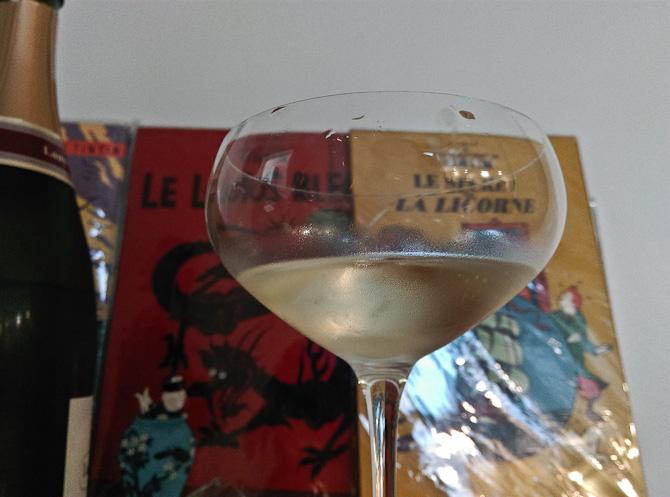 Vi snuppede et glas