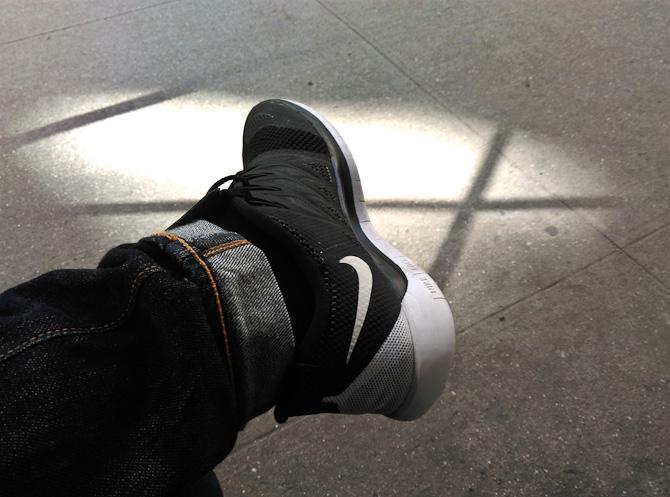 Jeg fik nyt fodtøj