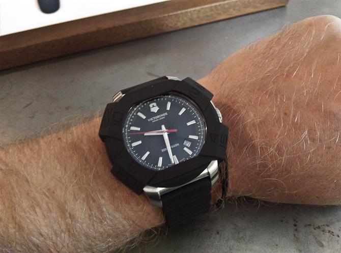 Uret blev prøvet