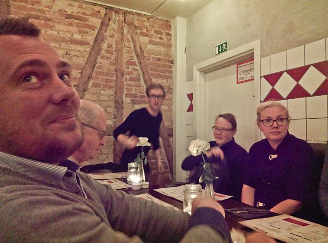 Per, Mikkel, Tobber og Maria