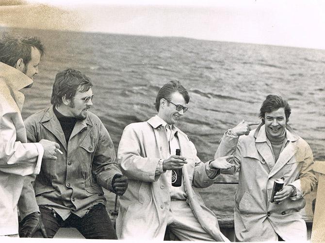 Jeg blev svært begejstret for dette foto af min onkel og min far fra 1969