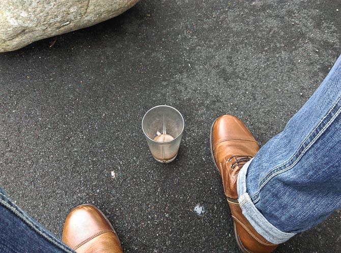 Kaffe-boot-skud