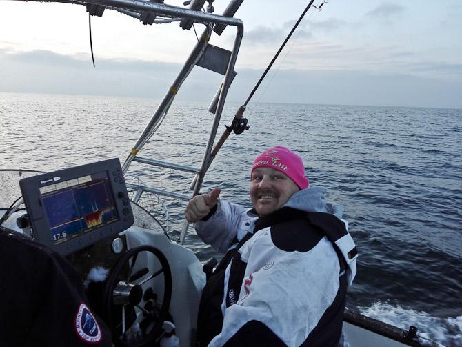 Einer bød på fisketur