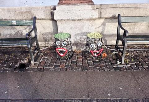 Der var gade-kunst
