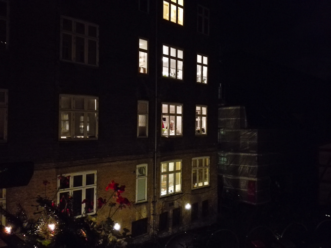 Juleaften på flere etager