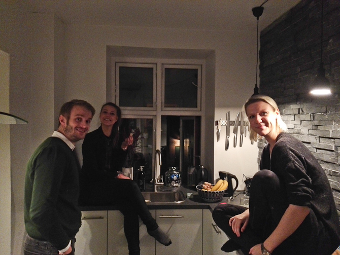 Køkken-hygge