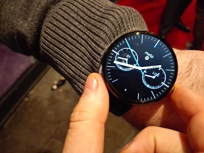 Vi så et ur, der kunne et og andet