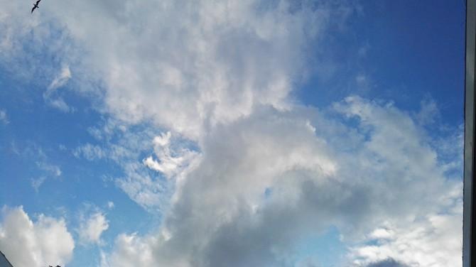 """""""Se, der er vat på himlen"""""""