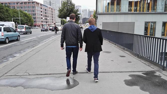Rom og lillebror Andreas