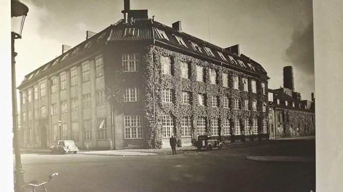 Et sted på Østerbro i gamle dage