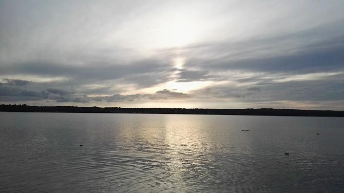 Vi så på søen