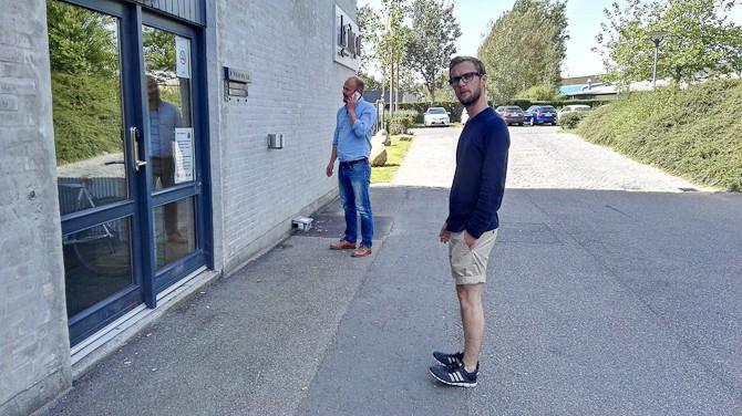 Mikkel havde fået nye sko, som ikke skulle slides fortil