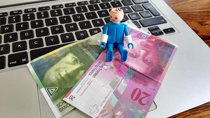 Det skal handle om valuta fra Schweiz i dag...