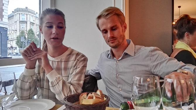Stine og Anders