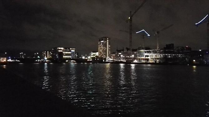 Aften og vand