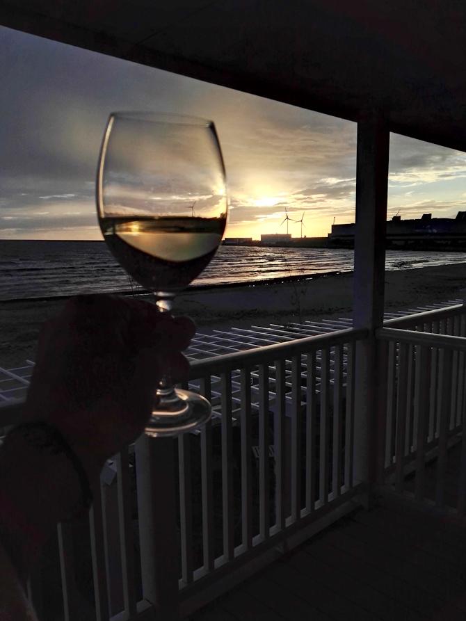 Samme hvidvin. Anden udsigt.