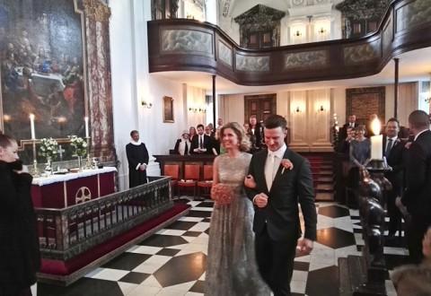 Julie og Jannick sagde ja til hinanden
