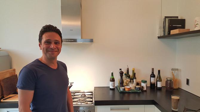 Berto blev besøgt i forbindelse med en kommende video