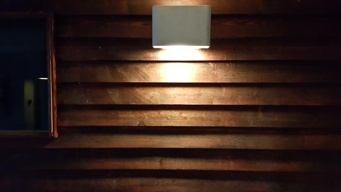 Lys på træ