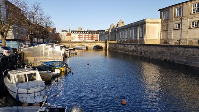 Solskin i København