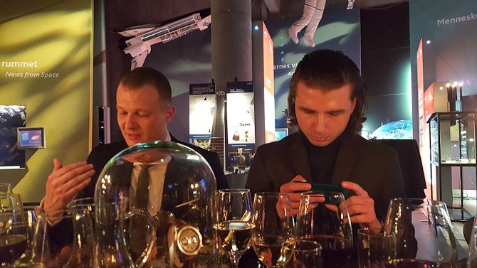 Martin og Jens - og lidt godt i glassene