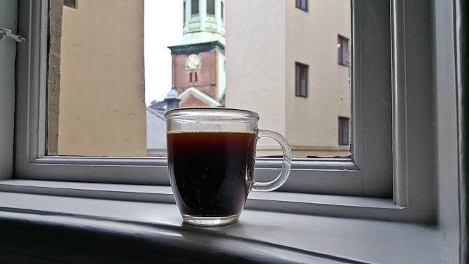 En andne kaffe - en anden karm