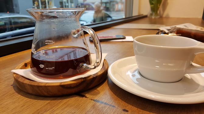 Jeg var på Forloren Espresso