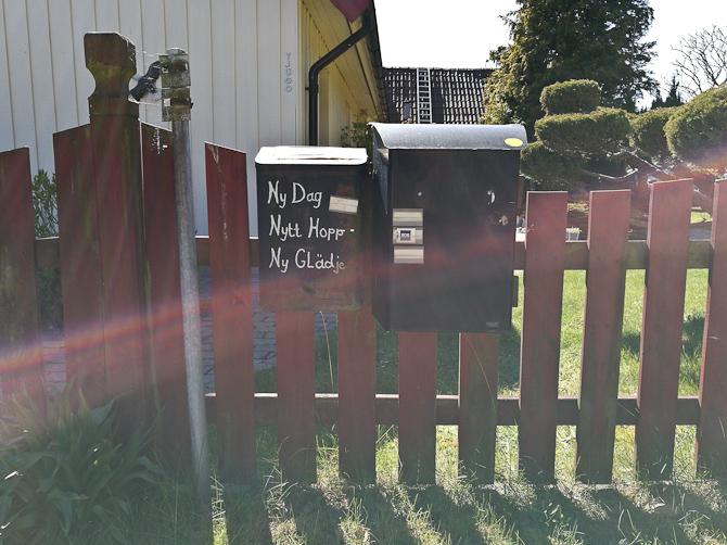 Bedste postkasse budskab til dato