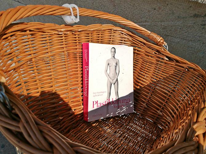 Jeg spottede en bog i en cykelkurv