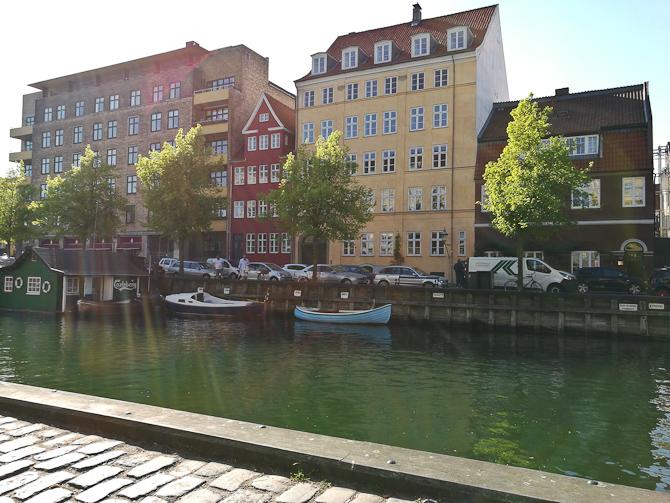 Vi gik til Christianshavn
