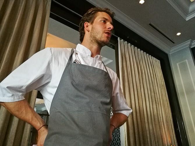 Andreas Bag har fået fører forklædet.