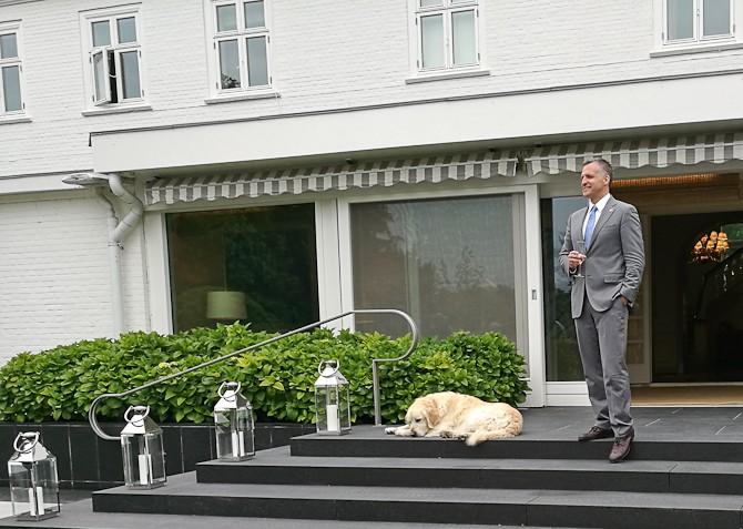 Rufus og hund
