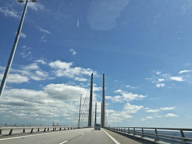 Vi fortsatte fint videre mod Sverige