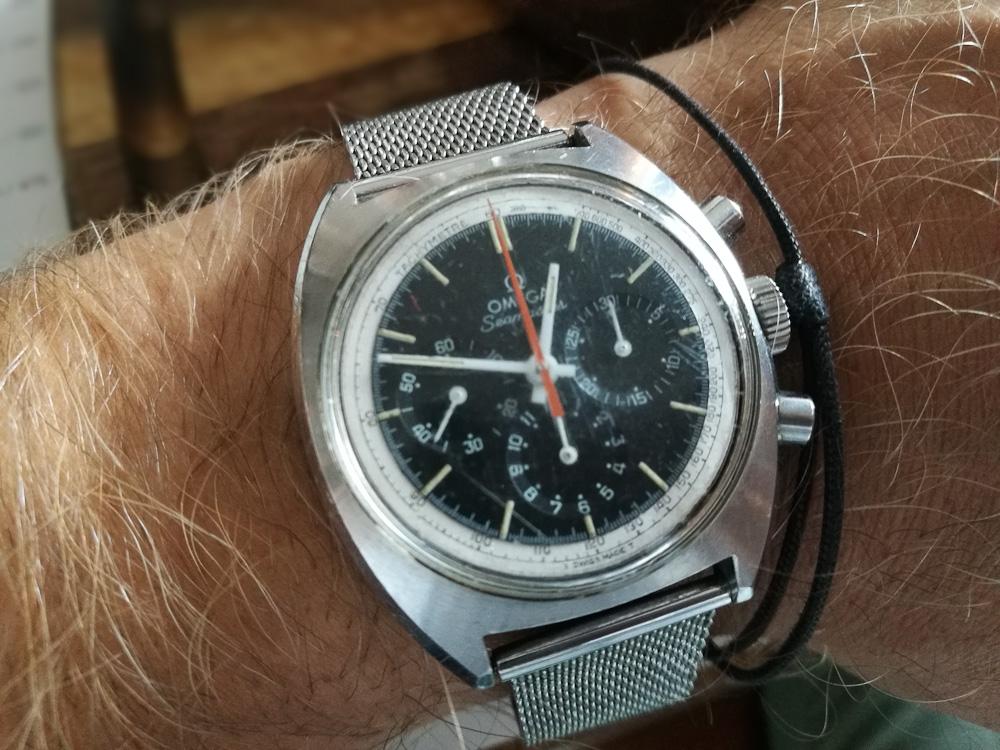 Min ven havde købt et flot ur.