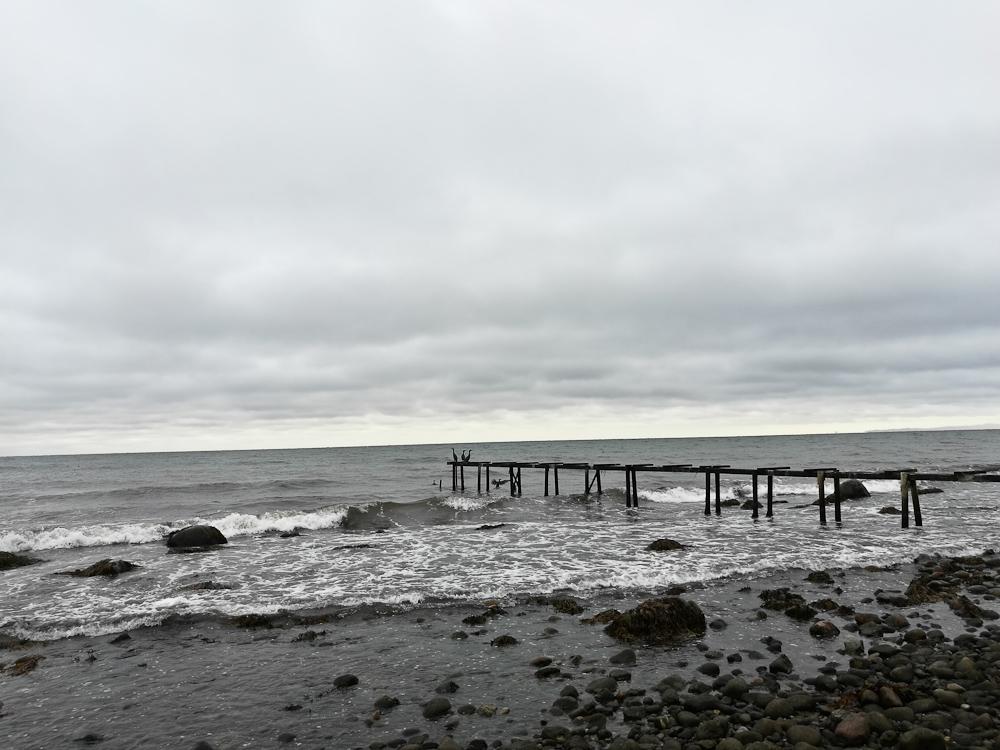 Adgangen til havet er nu ganske begrænset rent bromæssigt