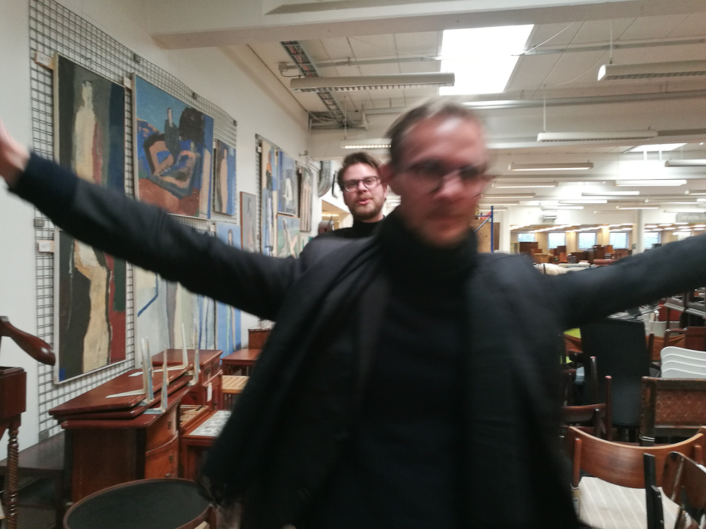 Det passede i øvrigt Anders aldeles glimrende, at han var i fokus, og at Amby var gnidret.