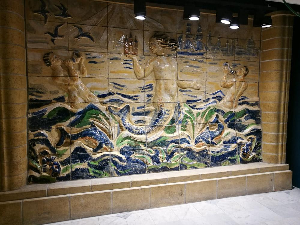 Fundet bag en væg under istandsættelsen af Illum