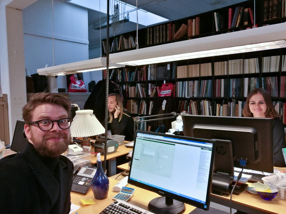 Anders, Jørgen og Francoise