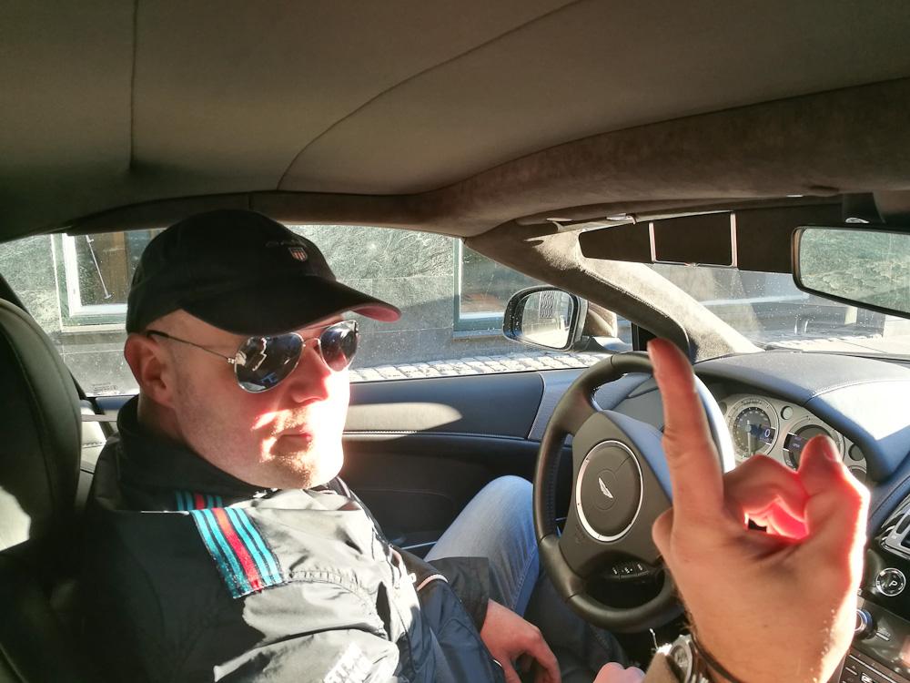 Vi har noget Aston Martin på vej